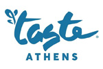 Taste of Athens 2019. Логотип выставки