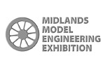 Midlands Model Engineering Exhibition 2018. Логотип выставки