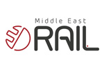 Middle East Rail 2019. Логотип выставки