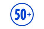Старшее поколение 50+ 2019. Логотип выставки