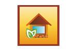 Деревянное и загородное строительство. Ландшафт. Интерьер 2019. Логотип выставки