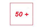 50 ПЛЮС 2016. Логотип выставки