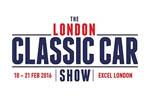 The London Classic Car Show 2017. Логотип выставки