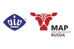 Мясная промышленность. Куриный Король. Индустрия Холода для АПК / VIV Russia 2019. Логотип выставки