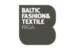 Baltic Fashion & Textile Riga 2018. Логотип выставки