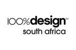 100% Design South Africa 2017. Логотип выставки