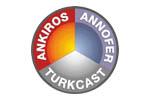 ANKIROS / ANNOFER / TURKCAST 2014. Логотип выставки