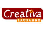 Creativa Lausanne 2015. Логотип выставки