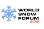 Всемирный Форум Снега 2013. Логотип выставки