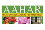 Aahar 2017. Логотип выставки