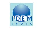 IDEM India 2010. Логотип выставки