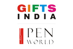 Gifts India - Pen World 2010. Логотип выставки