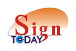 Sign Today 2010. Логотип выставки
