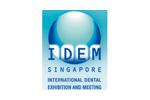 IDEM Singapore 2018. Логотип выставки