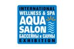 AQUA SALON: Wellness & SPA. Бассейны и сауны 2018. Логотип выставки