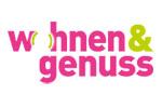 wohnen&genuss 2019. Логотип выставки