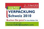 Verpackung Schweiz 2014. Логотип выставки