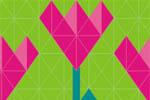 Весенний сад. Дачный сезон 2018. Логотип выставки