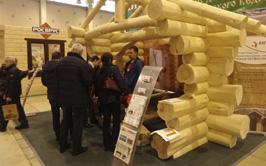 «Выставка «Деревянное домостроение» / Holzhaus открылась!»